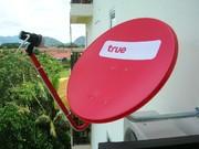 True Visions satellite TV (Platinum package) included
