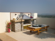 Enjoy a roof-top barbecue, with wonderful far-reaching views over the surrounding countryside.