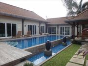 4 bed pool villa for rent,  on a long term contract only, in Laguna