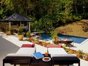Swimming pool, sundeck and sala