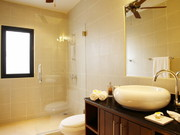 Bathroom shared by bedroom 5 & 6