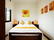 Bedroom 3, queen bed and en-suite bathroom