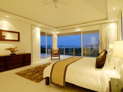 Master bedroom by night..