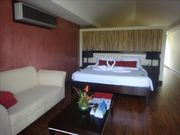 1 room, next to the beach, private jacuzzi, on an Island, in a 4 stars Resort