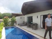 2 bedroom pool villa, next to the beach, on an Island, in a 4 stars Resort
