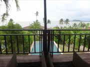 2 bedroom pool villa, beach front, on an Island, in a 4 stars Resort