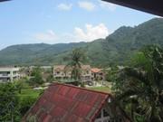 The view, toward Kamala and mountains