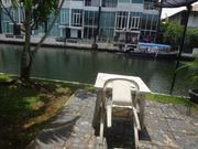 2 bed town house, water front, boat at the villa, for rent, with shared pool, gym, for long term