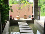 Enjoy the tranquility of the pool entry area!