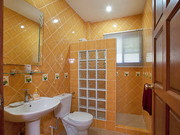 Main Bathroom - Fitted with Full Shower, Basin and western W/C
