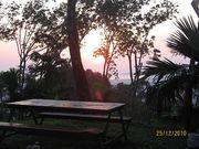 Phuket Camping and sun set view