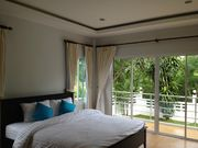 Second bedroom overlooking the sea complete with its own balcony.  Imagining waking up every morning with the breathe of fresh air with private ocean view...