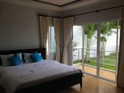 Master bedroom complete with its own balcony for private seaview.