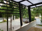View from the living room, feature a huge balcony perfect for BBQ or even a perfect evening of wine and classic music.