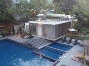 Condominium with pool