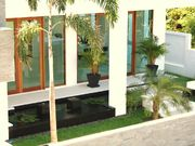 Entrance Over a Large Koi Pond with Four Fountains.Make a powerful impression on your visitors.