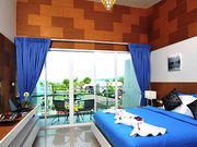 Superior room 1500 THB / night. Check in 14 pm, Check out mid day