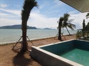 Beach front Pool Villa for rent, 3 bed, in Rawai
