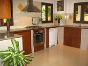 Open-plan western-style kitchen