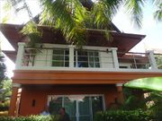 3 bed pool villa for rent, in Nai Harn