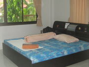Double bedroom which includes en suite toilet and A/C