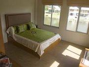 bedroom with queenbed