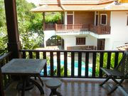 This terrace is next to your room, perfect place to wake up, sit and enjoy the morning. Many birds around!