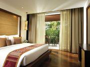Private balcony providing garden or lagoon view