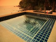 Outdoor jacuzzi: Sea view over Patong Beach
